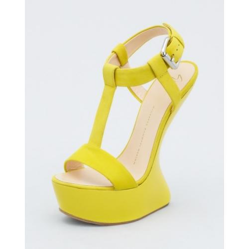 new giuseppe zanotti design heelless yellow suede shoes gzh001 rh giuseppe zanotti us com